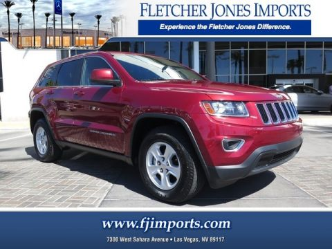 Pre-Owned 2014 Jeep Grand Cherokee Laredo Rear Wheel Drive SUV
