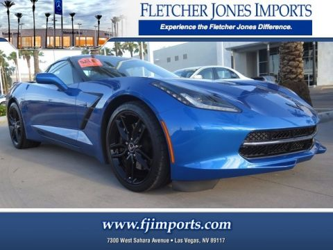Pre-Owned 2015 Chevrolet Corvette Z51 2LT Rear Wheel Drive 2dr Car