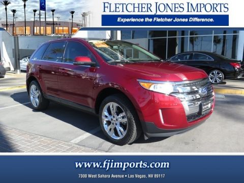 Pre-Owned 2014 Ford Edge Limited Front Wheel Drive Sport Utility