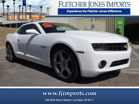 Pre-Owned 2013 Chevrolet Camaro LT Rear Wheel Drive Coupe