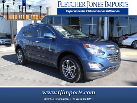 Pre-Owned 2016 Chevrolet Equinox LTZ Front Wheel Drive Sport Utility