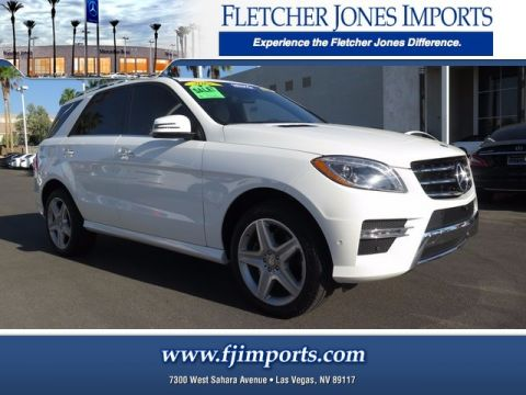 Certified Pre-Owned 2015 Mercedes-Benz ML 400 AWD 4MATIC®