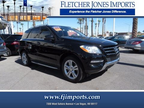 Certified Pre-Owned 2015 Mercedes-Benz ML 350 AWD 4MATIC®