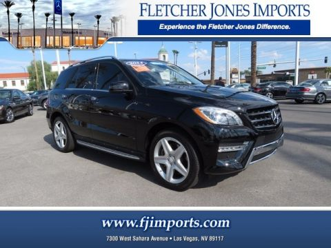 Certified Pre-Owned 2014 Mercedes-Benz ML 550 AWD 4MATIC®