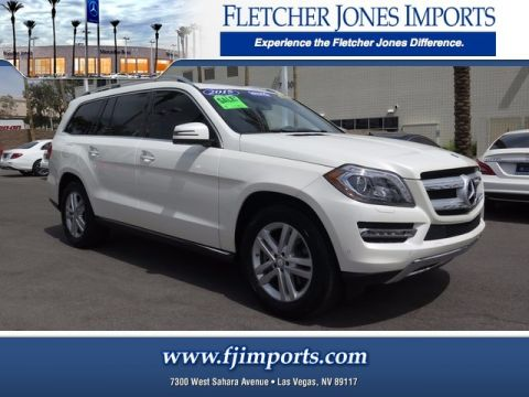 Certified Pre-Owned 2015 Mercedes-Benz GL 450 AWD 4MATIC®