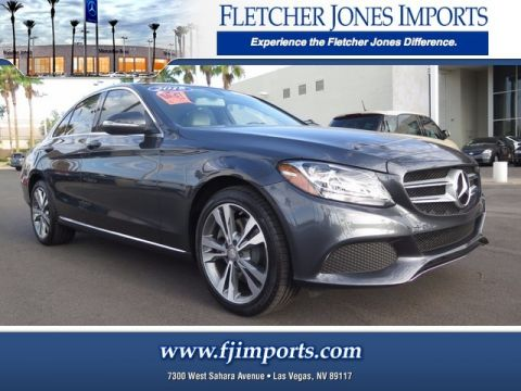 Certified Pre-Owned 2015 Mercedes-Benz C 300 Sport AWD 4MATIC®