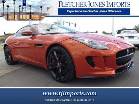 Pre-Owned 2015 Jaguar F-TYPE V6 S Rear Wheel Drive 2dr Car