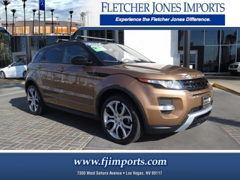 Pre-Owned 2014 Land Rover Range Rover Evoque Dynamic Four Wheel Drive Sport Utility