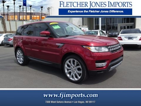 Pre-Owned 2014 Land Rover Range Rover Sport Supercharged Four Wheel Drive Sport Utility