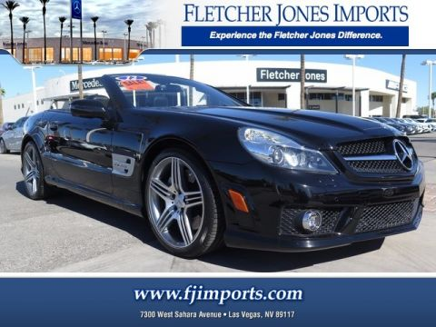 Certified Pre-Owned 2012 Mercedes-Benz SL 63 AMG® Rear Wheel Drive Convertible