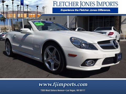 Certified Pre-Owned 2011 Mercedes-Benz SL 550 Rear Wheel Drive Convertible