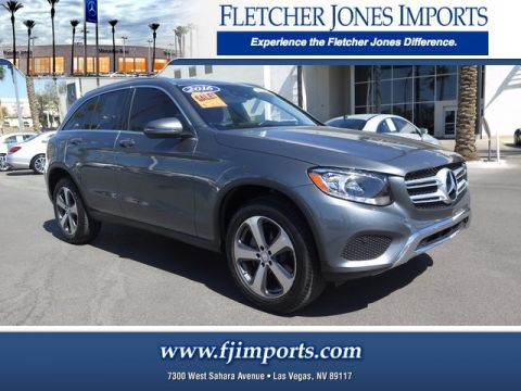 Certified Pre-Owned 2016 Mercedes-Benz GLC 300 Rear Wheel Drive SUV