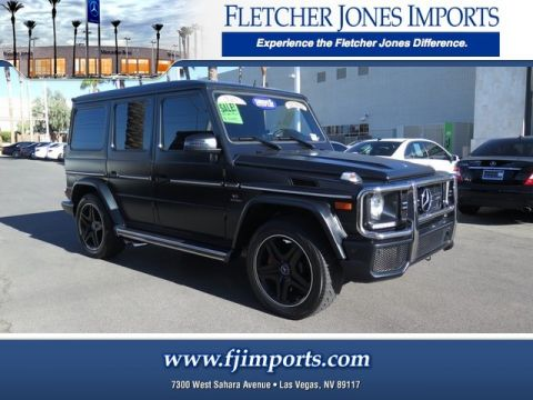 Certified Pre-Owned 2015 Mercedes-Benz G 63 AMG® AWD 4MATIC®