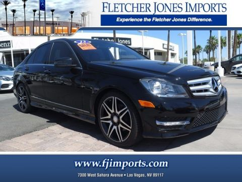 Certified Pre-Owned 2013 Mercedes-Benz C 250 Sport Rear Wheel Drive Sedan
