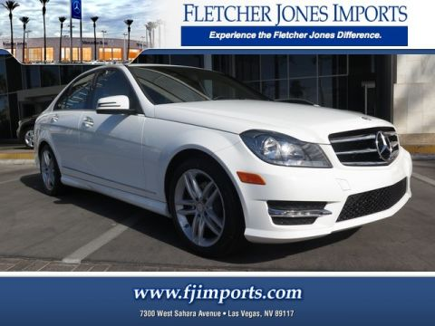 Certified Pre-Owned 2014 Mercedes-Benz C 250 Sport Rear Wheel Drive Sedan