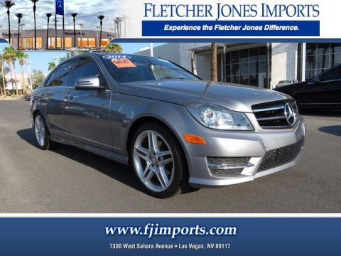 Certified Pre-Owned 2014 Mercedes-Benz C 250 Luxury Rear Wheel Drive Sedan