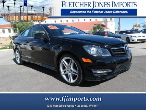 Certified Pre-Owned 2014 Mercedes-Benz C 250 Rear Wheel Drive 2dr Car