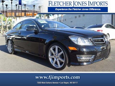 Certified Pre-Owned 2015 Mercedes-Benz C 250 Rear Wheel Drive 2dr Car