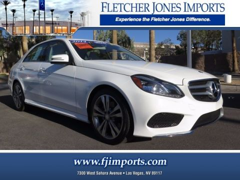 Certified Pre-Owned 2014 Mercedes-Benz E 350 Sport Rear Wheel Drive Sedan