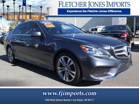 Pre-Owned 2016 Mercedes-Benz E 350 Sport Rear Wheel Drive Sedan