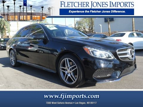 Certified Pre-Owned 2015 Mercedes-Benz E 350 Sport Rear Wheel Drive Sedan