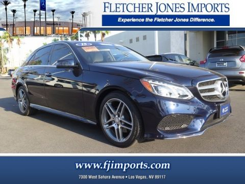 Certified Pre-Owned 2015 Mercedes-Benz E 350 Luxury AWD 4MATIC®