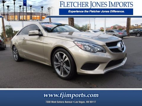 Certified Pre-Owned 2016 Mercedes-Benz E 400 Rear Wheel Drive Coupe