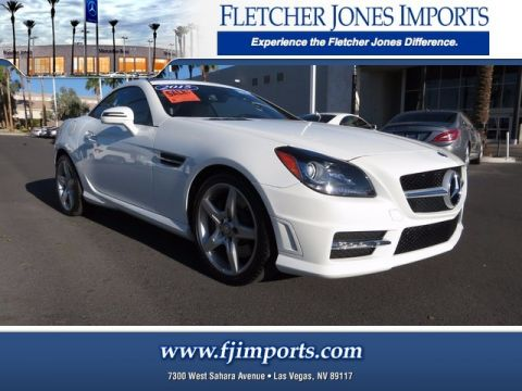 Certified Pre-Owned 2015 Mercedes-Benz SLK 250 Rear Wheel Drive Convertible