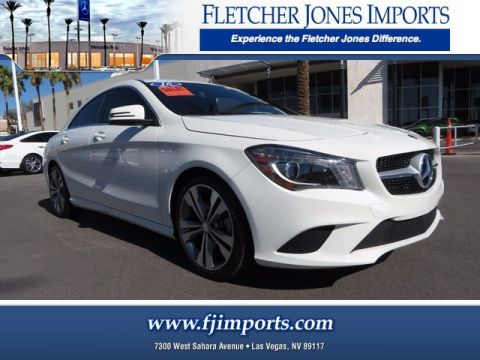 Certified Pre-Owned 2016 Mercedes-Benz CLA 250 AWD 4MATIC®