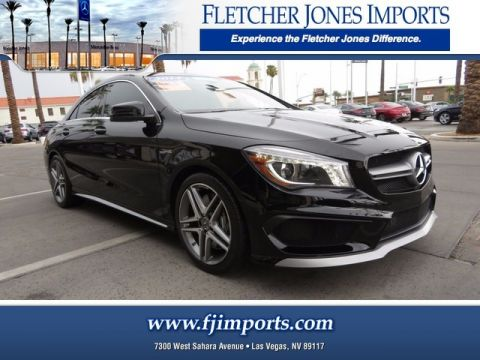 Certified Pre-Owned 2014 Mercedes-Benz CLA 45 AMG® AWD 4MATIC®