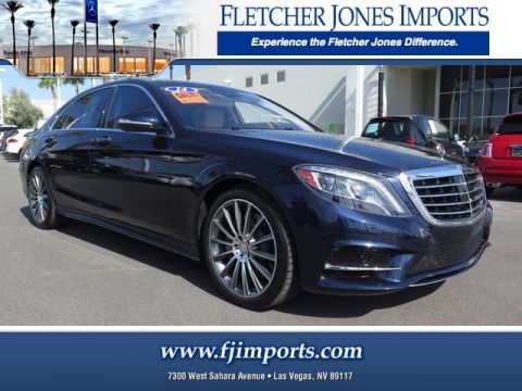 Pre-Owned 2014 Mercedes-Benz S 550 Rear Wheel Drive Sedan