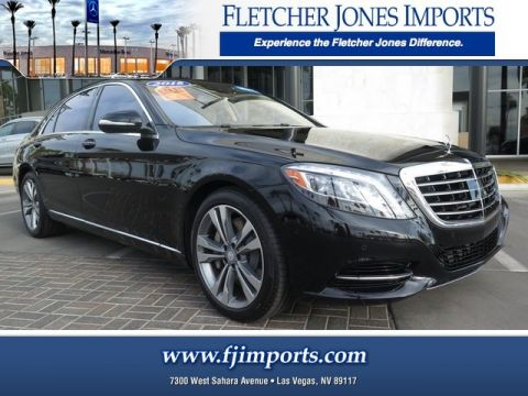 Certified Pre-Owned 2015 Mercedes-Benz S 550 Rear Wheel Drive Sedan