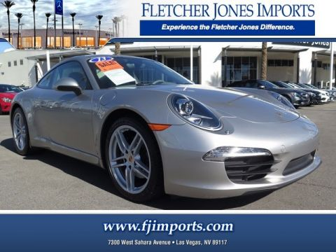 Pre-Owned 2013 Porsche 911  Rear Wheel Drive 2dr Car