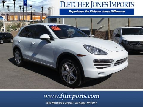 Pre-Owned 2014 Porsche Cayenne Platinum All Wheel Drive Sport Utility