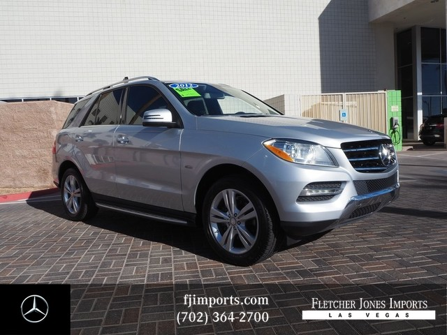 Certified Pre-Owned 2012 Mercedes-Benz M-Class ML 350
