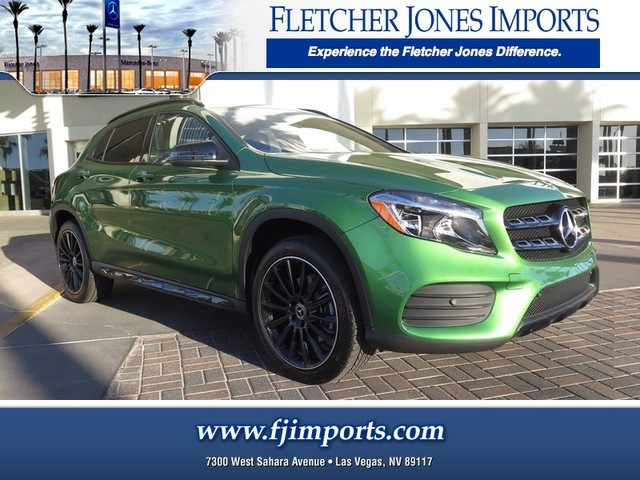 new 2018 mercedes benz gla gla 250 suv in las vegas 1800050 fletcher jones imports. Black Bedroom Furniture Sets. Home Design Ideas