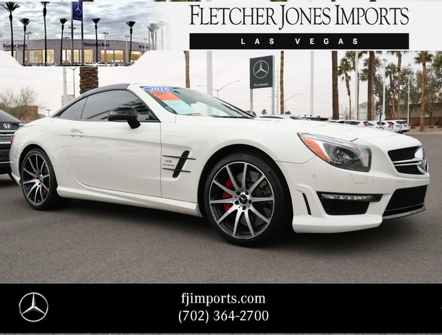 Certified Pre-Owned 2016 Mercedes-Benz SL-Class AMG® SL 63