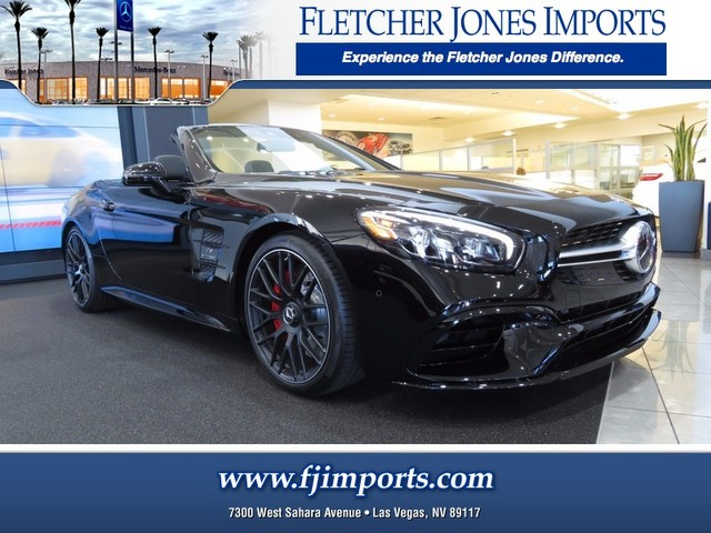 new 2018 mercedes benz sl class sl 63 amg roadster convertible in las vegas 1800211 fletcher. Black Bedroom Furniture Sets. Home Design Ideas