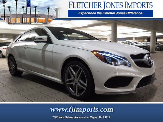 new 2017 mercedes benz e class e 550 coupe in las vegas 1700791 fletcher jones imports. Black Bedroom Furniture Sets. Home Design Ideas