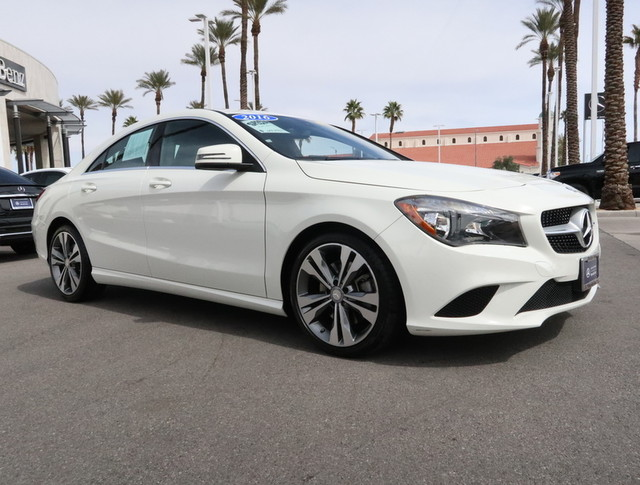 Certified Pre Owned 2016 Mercedes Benz Cla Cla 250 Coupe In Las
