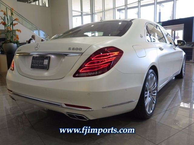 New 2017 mercedes benz s class maybach s 600 sedan in las for Fletcher mercedes benz