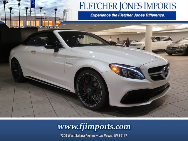 new 2017 mercedes benz c class amg c 63 s convertible in las vegas 1700681 fletcher jones. Black Bedroom Furniture Sets. Home Design Ideas
