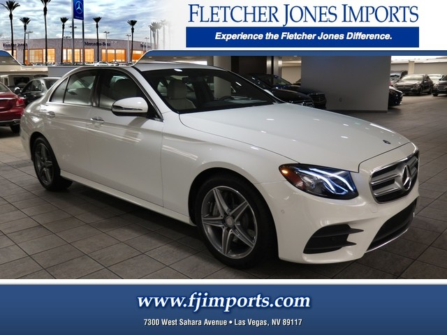 new 2017 mercedes benz e class e300 luxury sedan in las vegas 1700572 fletcher jones imports. Black Bedroom Furniture Sets. Home Design Ideas