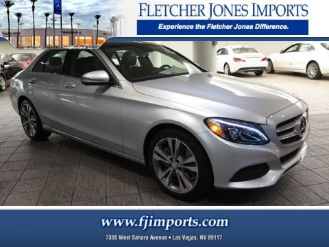 New Mercedes-Benz C-Class in Las Vegas | Fletcher Jones ...