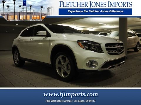 22 new mercedes benz gla suvs for sale fletcher jones imports in las vegas nv. Black Bedroom Furniture Sets. Home Design Ideas