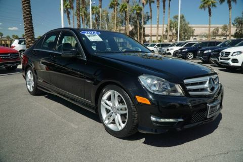 Pre-Owned 2012 Mercedes-Benz C-Class C 250 Luxury
