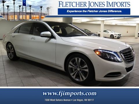 new mercedes benz s class in las vegas fletcher jones imports. Black Bedroom Furniture Sets. Home Design Ideas