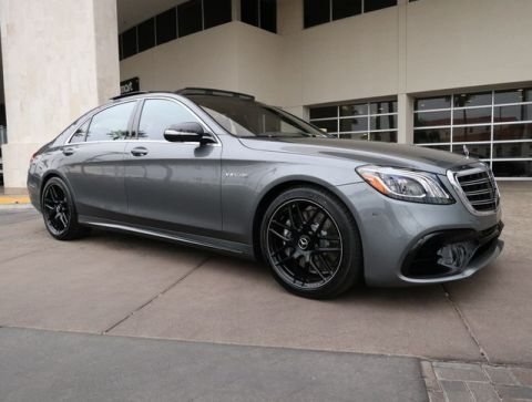 New 2019 Mercedes-Benz S-Class AMG® S 63