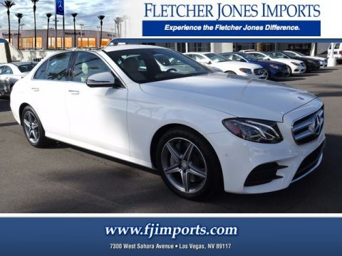 new mercedes benz e class in las vegas fletcher jones imports. Black Bedroom Furniture Sets. Home Design Ideas